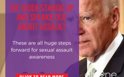 Joe Biden Stands Up and Speaks Out About Assault