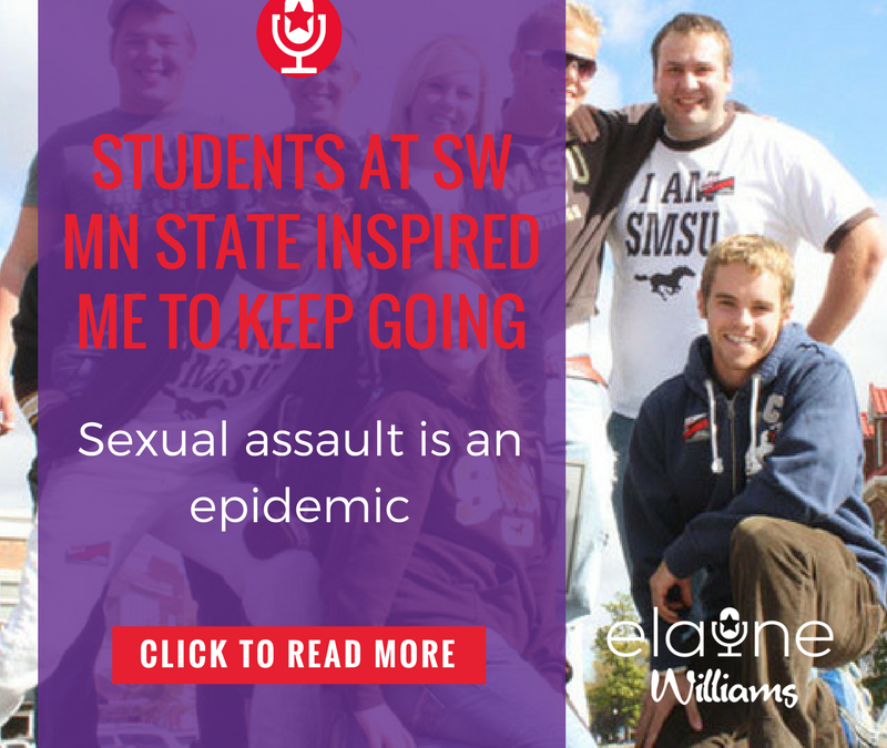 Students at SW MN State Inspired Me to Keep Going