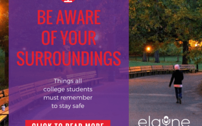 Be Aware Of Your Surroundings